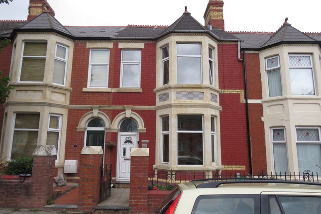 Thumbnail Terraced house for sale in Court Road, Barry