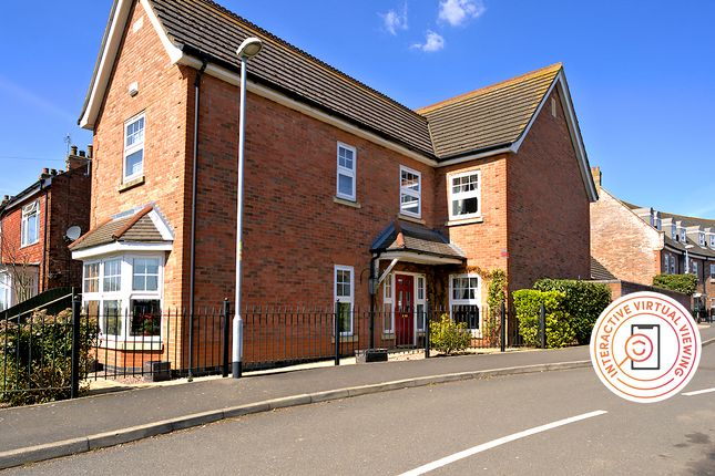 Thumbnail Detached house for sale in Abbots Crescent, Spalding