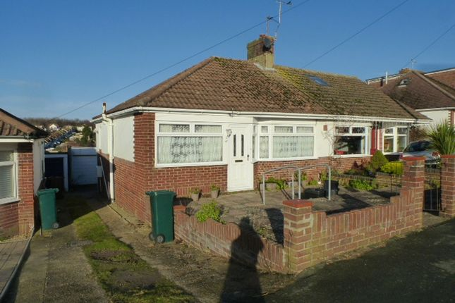 2 bed semi-detached bungalow for sale in Ladies Mile Road, Brighton