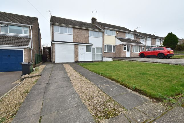 Semi-detached house for sale in Briar Mead, Oadby, Leicester