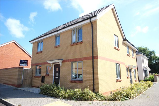Thumbnail Semi-detached house for sale in Sorrel Place, Stoke Gifford, Bristol