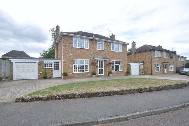Thumbnail Detached house for sale in Coniston Way, Church Crookham, Fleet