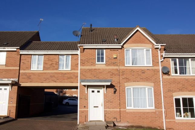 Thumbnail Terraced house to rent in Bushelton Close, Parkside, Coventry