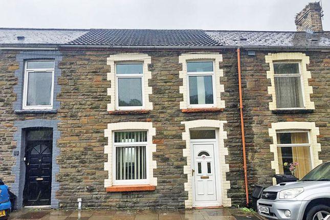 Thumbnail Terraced house for sale in Mary Street, Treharris