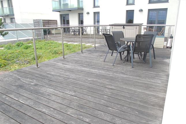 Balcony of The Hayes Apartments, The Hayes, Cardiff CF10
