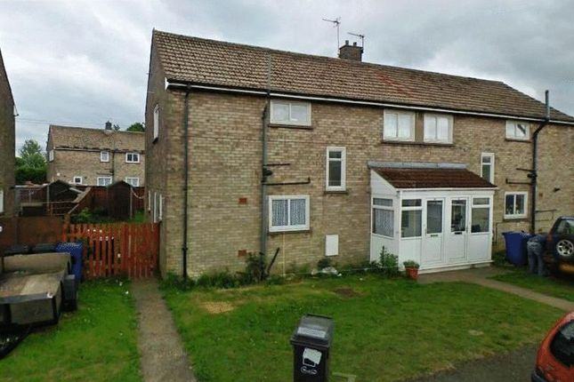 Thumbnail Semi-detached house for sale in Buchanan Road, Hemswell Cliff, Gainsborough