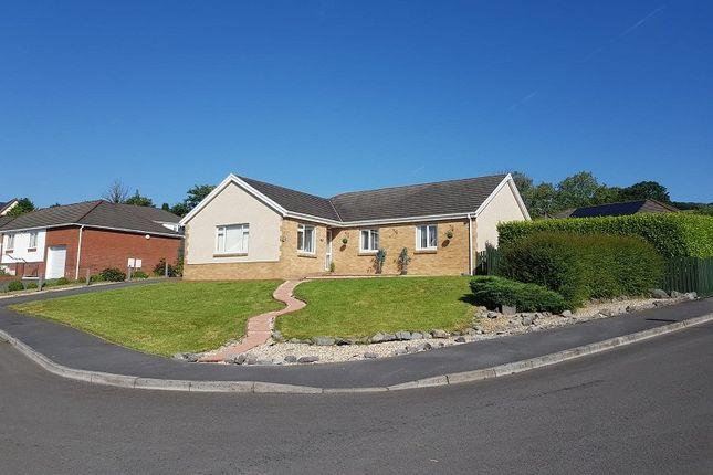 Detached bungalow for sale in Tir Dafydd, Pontyates, Llanelli, Carmarthenshire.