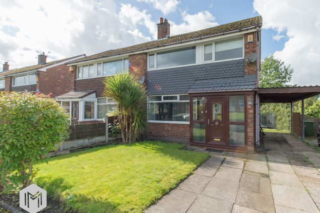 Thumbnail Semi-detached house for sale in Sandford Close, Bolton