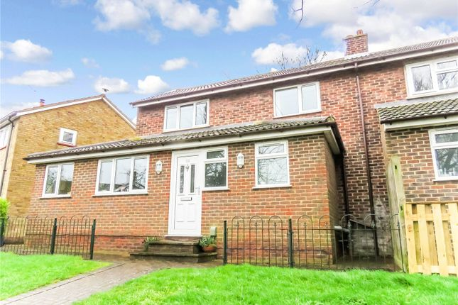 Semi-detached house for sale in Newman Avenue, Royston, Hertfordshire