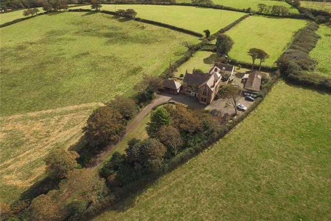 Thumbnail Detached house for sale in Haylett Grange, Pembroke Road, Haverfordwest, Pembrokeshire