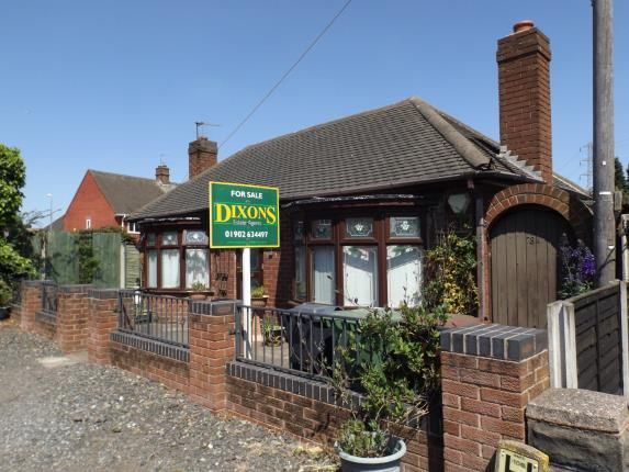 Thumbnail Bungalow for sale in Wolverhampton Road West, Bentley, Walsall, West Midlands