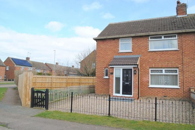 Thumbnail Semi-detached house for sale in Lancaster Way, Rushden