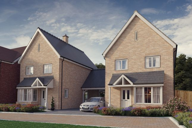 Thumbnail Detached house for sale in Plot 5, 'the Chancellors', Bedford Road, Moggerhanger