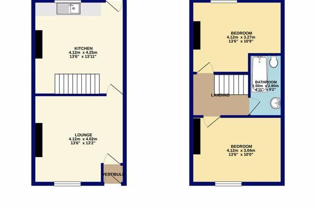 Floorplan of Bonsall Street, Blackburn BB2