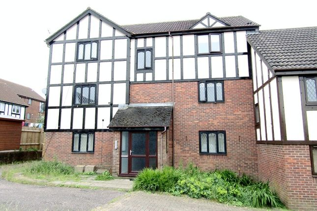 Thumbnail 1 bed flat to rent in Cranmer Court, Ravenhill, Swansea