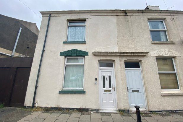 Thumbnail End terrace house to rent in Ball Street, Blackpool