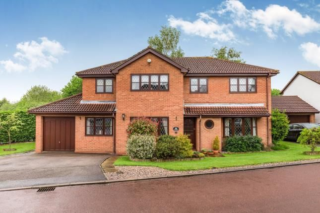 Thumbnail Detached house for sale in Laneside Hollow, Collingtree Park, Northampton, Northamptonshire