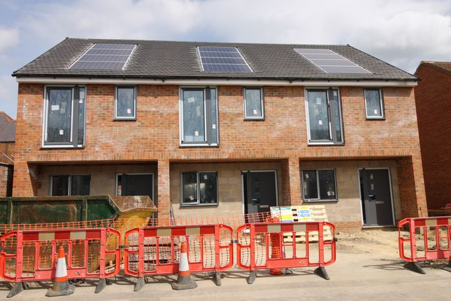 Thumbnail End terrace house for sale in Rose Court, High Street, Farnborough, Hampshire