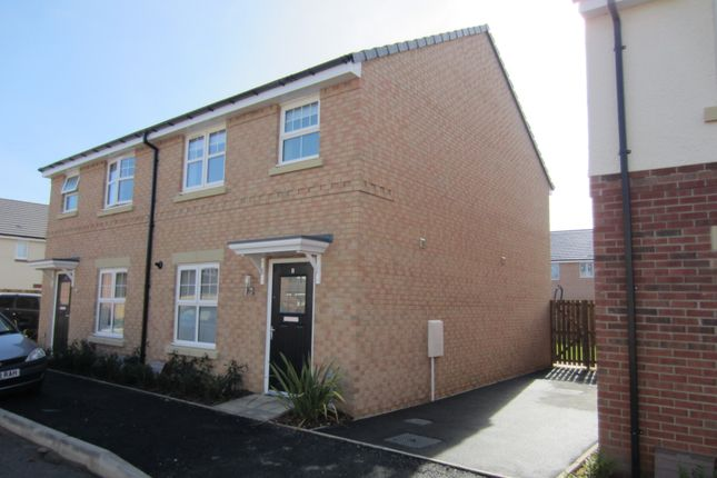 Thumbnail Semi-detached house to rent in Harper Grove, Durham Gate, Spennymoor