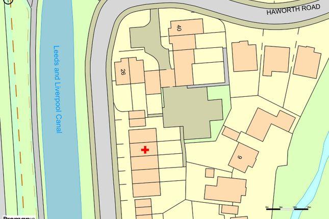 Plot Map of Haworth Road, Chorley, Lancashire PR6