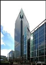 Office to let in 33rd Floor 25 Canada Square, Canary Wharf, London