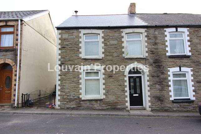 Thumbnail End terrace house to rent in Tillery Street, Abertillery, Blaenau Gwent.