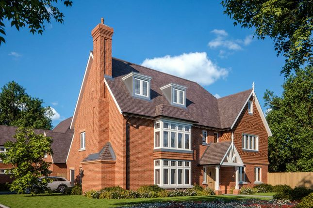 Thumbnail Detached house for sale in Burwood Park Road, Hersham, Walton-On-Thames