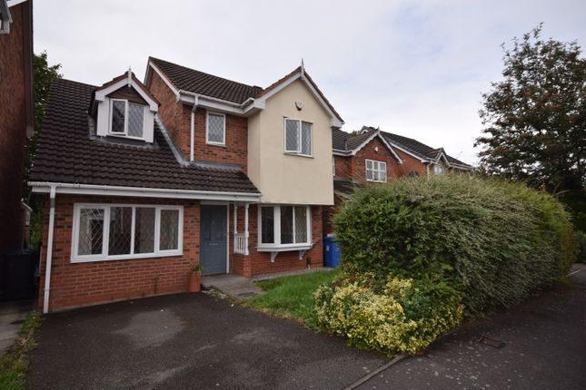 Thumbnail 4 bed detached house to rent in Dewchurch Drive, Sunnyhill, Derby