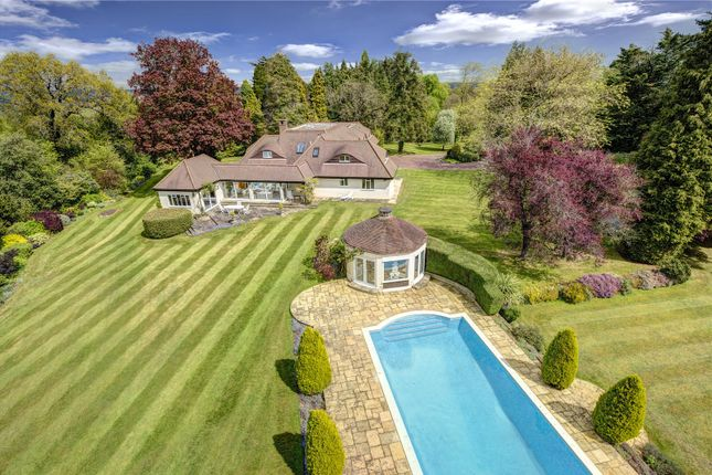 Thumbnail Detached house for sale in Winter Hill, Cookham Dean, Berkshire