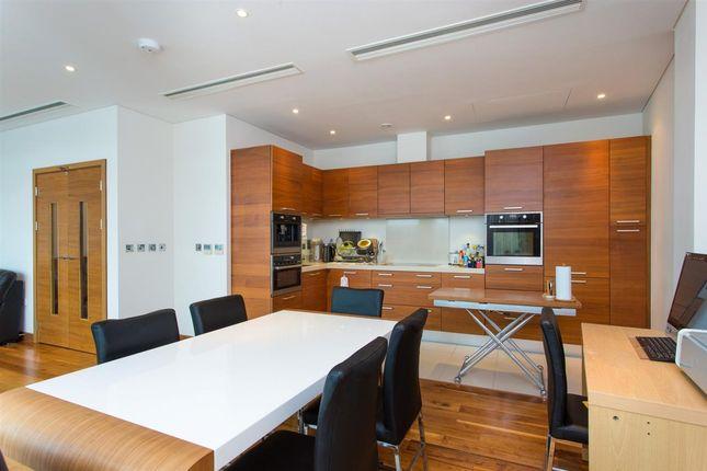 Thumbnail Flat to rent in Hawker Building, 350 Queenstown Road, Chelsea Bridge Wharf, Battersea