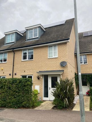 Thumbnail Terraced house for sale in Gilders Road, Little Canfield, Dunmow