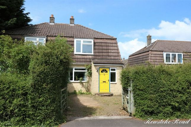 Thumbnail Semi-detached house for sale in Kewstoke Road, Combe Down, Bath