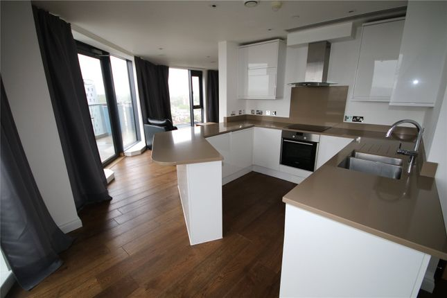 Thumbnail Flat to rent in Pinnacle Tower, 23 Fulton Road, Wembley