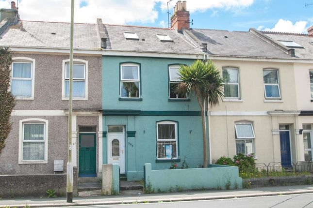Thumbnail Terraced house to rent in St. Levan Road, Plymouth