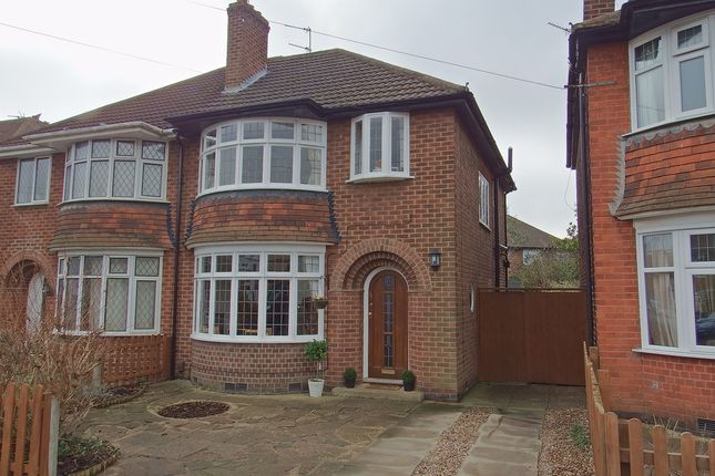 3 bed semi-detached house for sale in Mayfield Drive, Loughborough