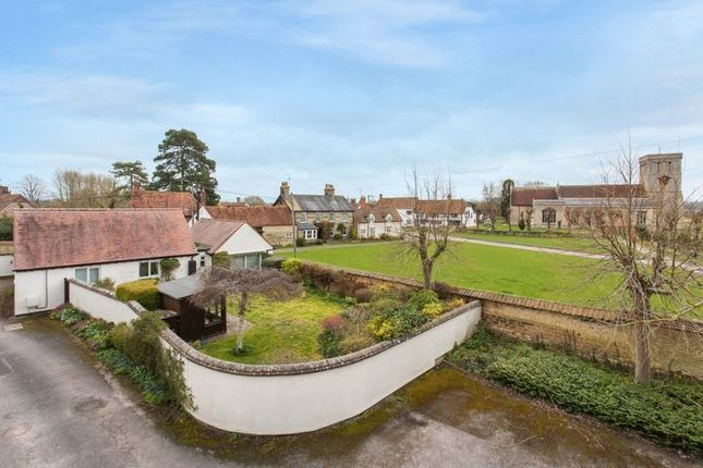 Thumbnail Detached bungalow for sale in The Paddocks, Haddenham, Aylesbury
