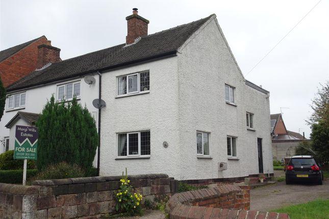 Thumbnail Cottage for sale in Belper Road, Stanley Common, Ilkeston