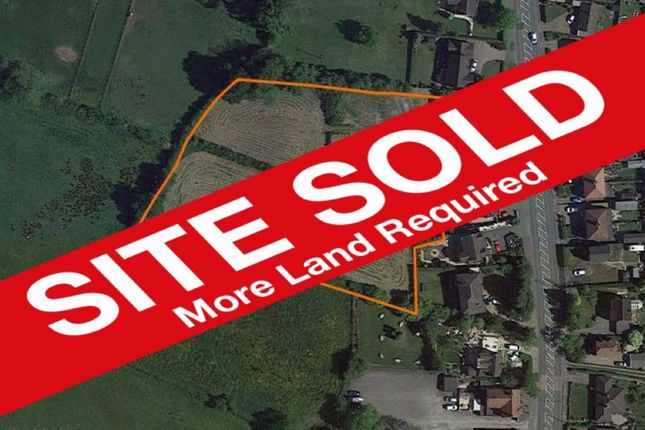 Thumbnail Land for sale in Congleton Road North, Scholar Green, Cheshire