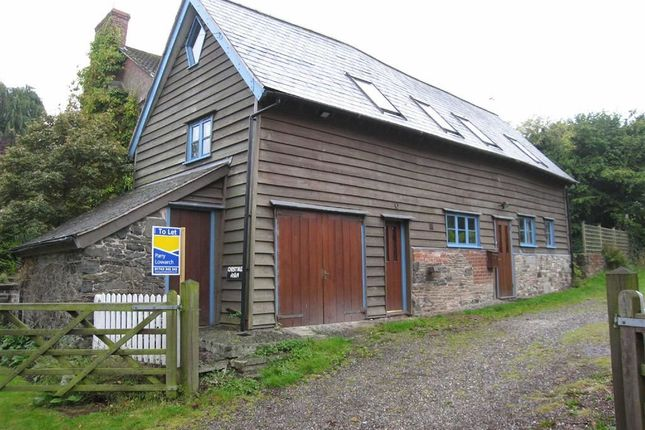 Thumbnail Barn conversion to rent in Back Lane, Worthen, Shrewsbury