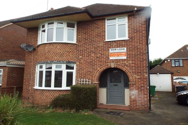 Thumbnail Detached house to rent in Upton Court Road, Langley, Slough