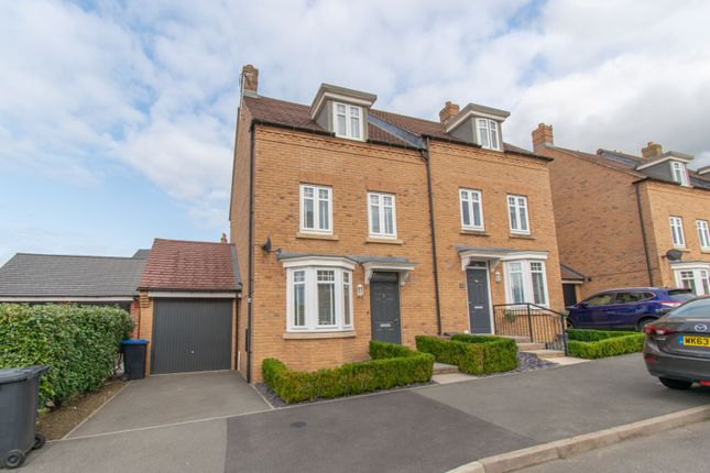 Thumbnail Semi-detached house for sale in Polwell Road, Leicester