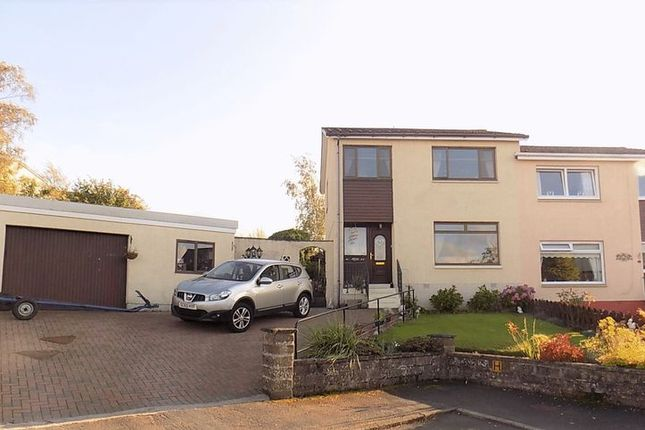 Thumbnail Semi-detached house for sale in Crawford Drive, Wallacestone, Falkirk