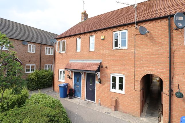 Thumbnail 2 bed terraced house for sale in Jessop Court, Kirton, Boston