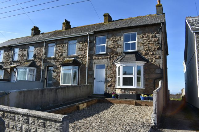 Thumbnail End terrace house for sale in Newton Road, Troon, Camborne