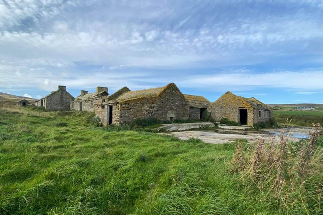 Thumbnail Land for sale in Quoys, Wester, Rousay, Orkney
