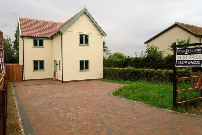 Thumbnail Detached house for sale in Nordle Corner, Common Road, Bressingham, Diss