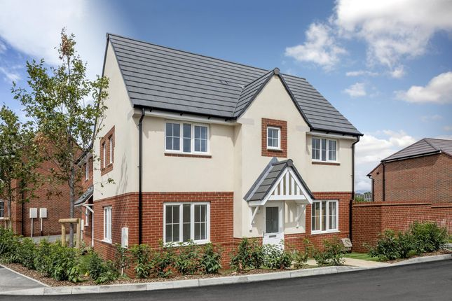 "Thumbnail Semi-detached house for sale in ""Morpeth"" at Robell Way, Storrington, Pulborough"
