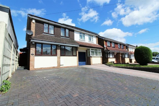 Thumbnail Semi-detached house for sale in Moathouse Lane West, Wednesfield, Wolverhampton