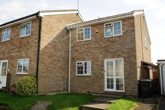 Thumbnail End terrace house for sale in Thornbera Gardens, Thorley, Bishop's Stortford