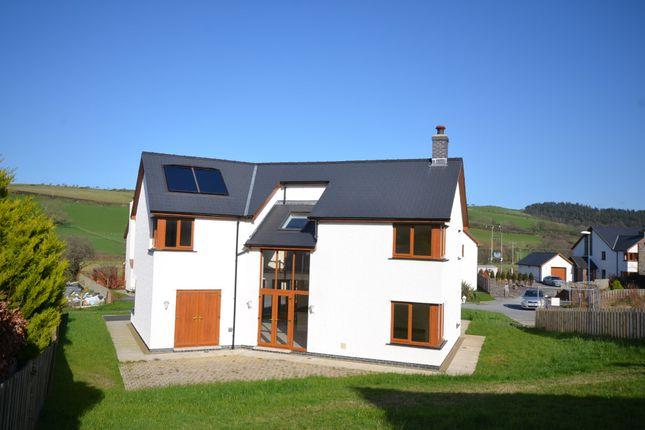 Thumbnail Detached house for sale in Cae Bach Rhiw, Rhydyfelin, Aberystwyth